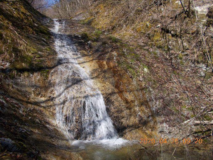 トラロープの滝