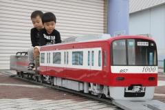 191020 京急電車顔出しパネル・ミニ電車車両展示-02