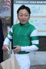 200101 2020年川崎競馬初日騎手お出迎え-03