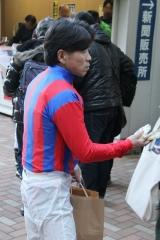 200101 2020年川崎競馬初日騎手お出迎え-08