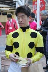 200101 2020年川崎競馬初日騎手お出迎え-12
