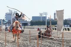 200103 川崎競馬流鏑馬(やぶさめ)騎射式-08