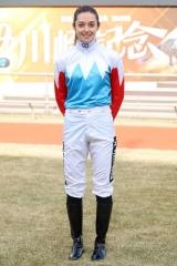 200125 ミカエル・ミシェル騎手 短期騎手免許交付記者会見-06