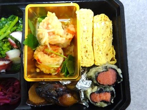 24玉子焼き明太子天ぷら海老南蛮漬け牡蠣の燻製オイルたくあん燻製