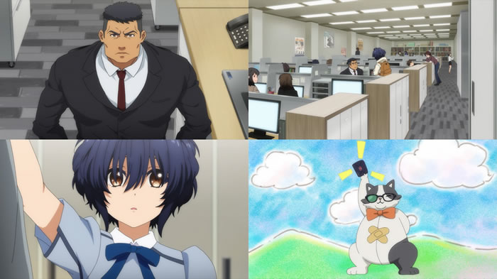 TVアニメ『22/7』第4話 | Aパート