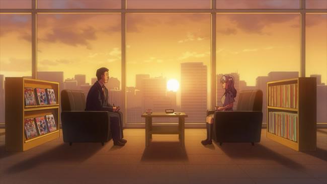 TVアニメ『22/7』第8話『ゆめみるロボット』 | Bパート 丸山あかねインタビューシーン