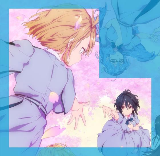 【22/7】TVアニメキービジュアル第2弾のカップリングと距離感 | 斎藤ニコル&滝川みう