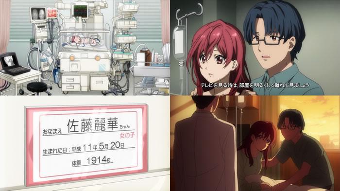 TVアニメ『22/7』第6話   アバンタイトル