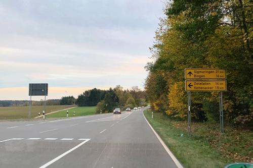 Sigmaringenへ