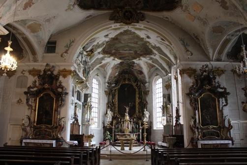 ジグマリンゲン城教会