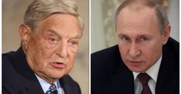 プーチン大統領 億万長者ジョージ・ソロスの逮捕を準備「