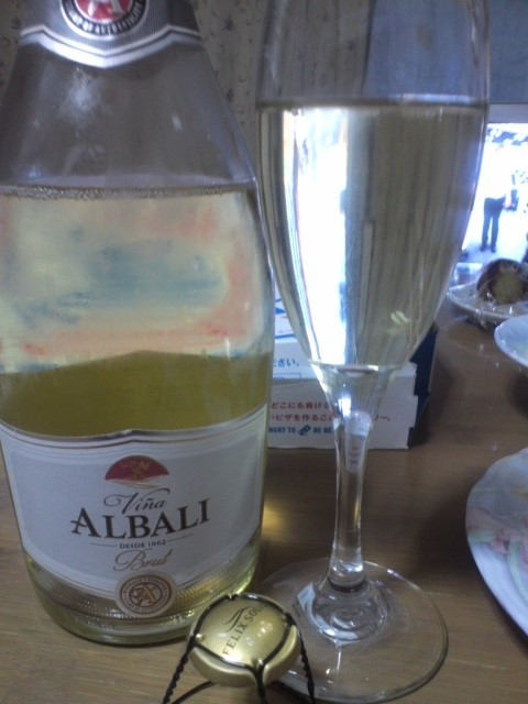 Viña ALBALI SPARKLING Brut(ヴィニャ・アルバリ・スパークリング・ブリュット)