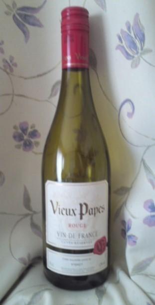 Vieux Papes Vin de France ROUGE(ヴューパープ フランス 赤)