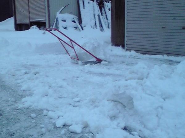2月9日 消防団関係の除雪作業2