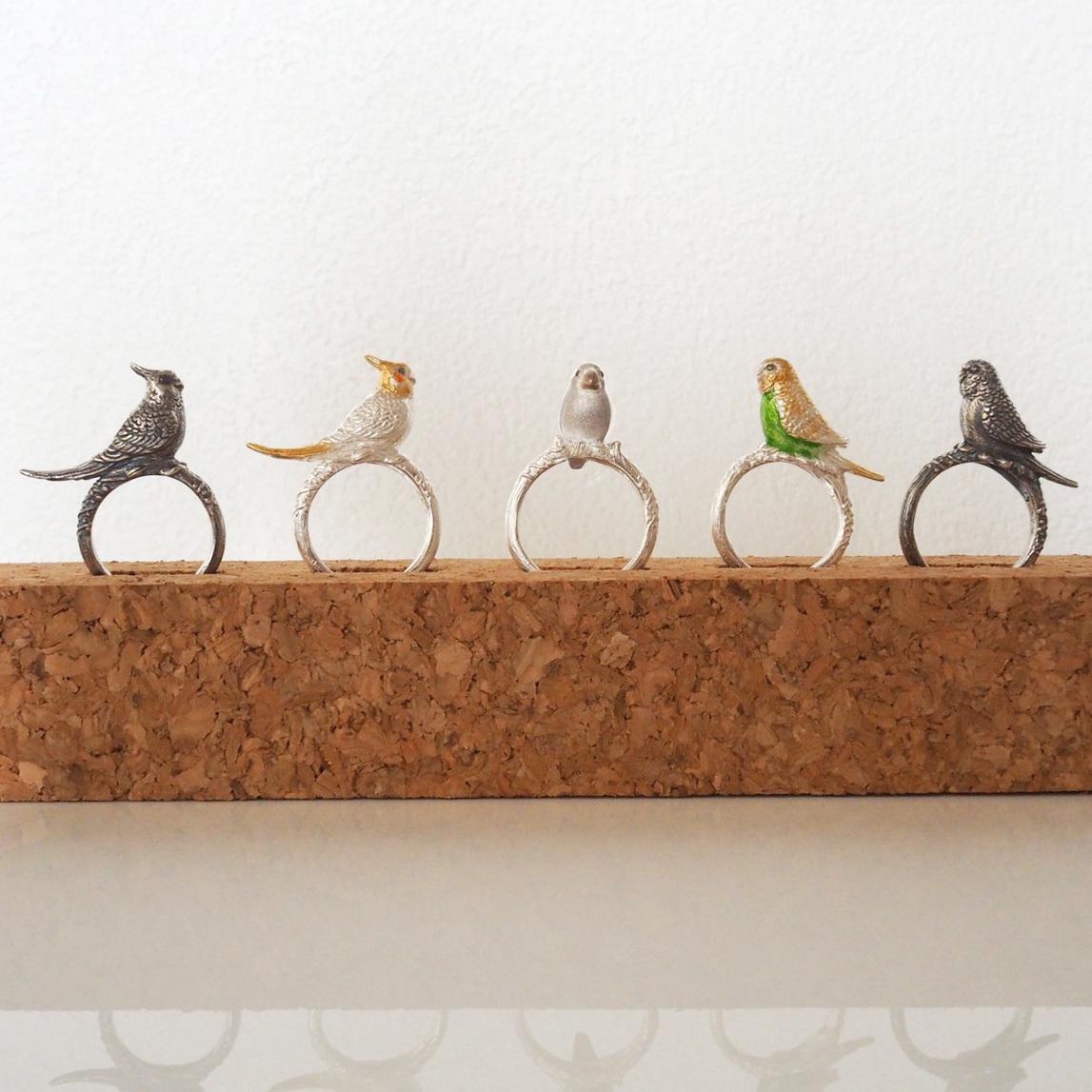 文鳥&インコのリング