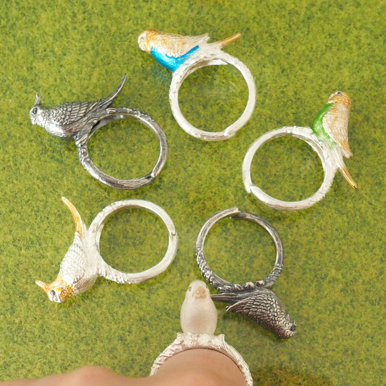 NEW★鳥リング