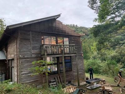 森の家台風被害