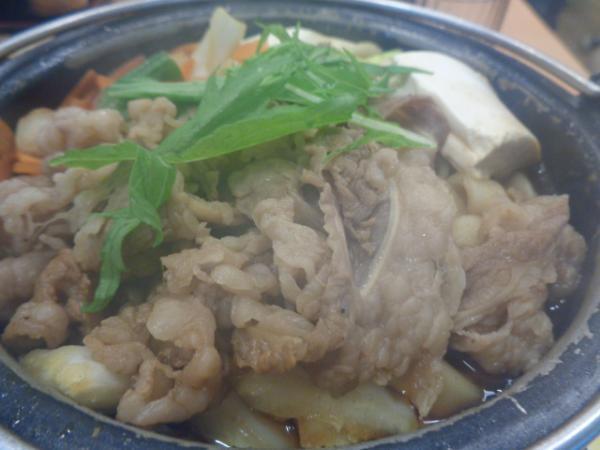 11/24 吉野家・すき鍋
