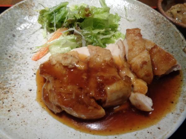 12/5 てんてん・チキンステーキジンジャアソース