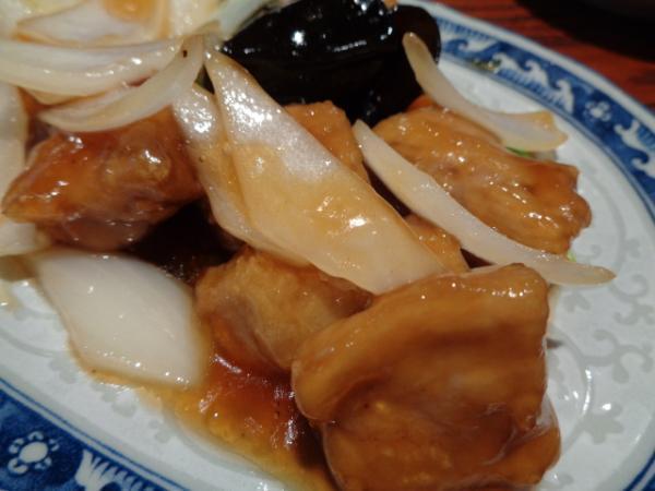 1/8 一凛・酢豚定食
