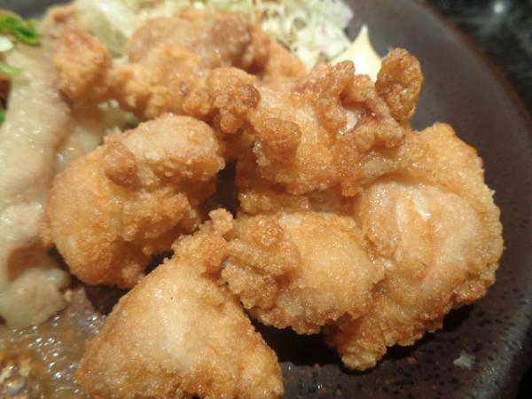 2/9 天狗・鶏カラ&豚炒め定食