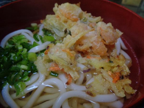 2/23 家食・天ぷら饂飩