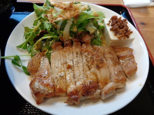 2/29 ブルーキッチン・豚ロースステーキ
