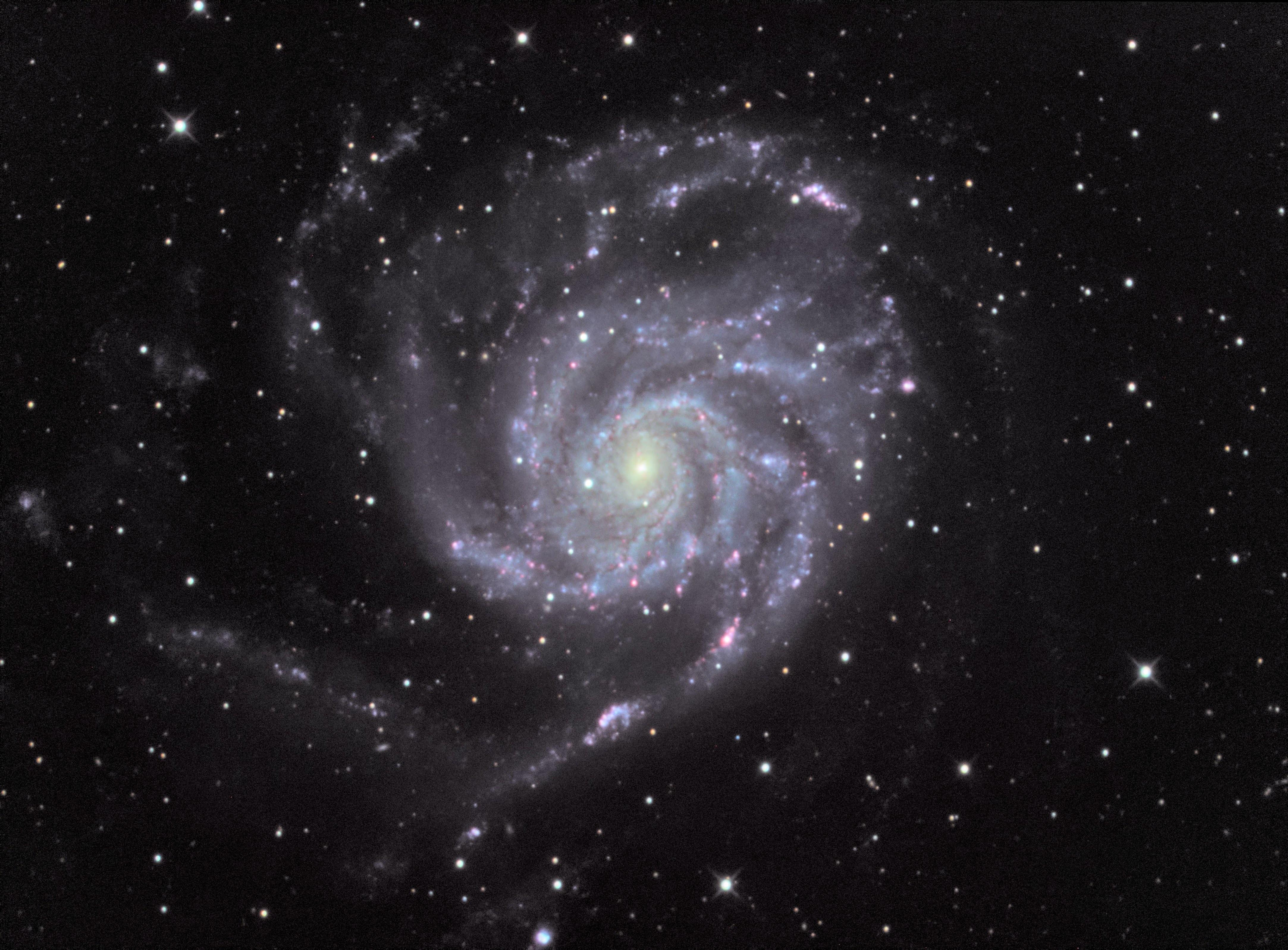 M101 LRGB