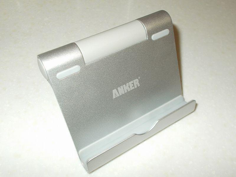 スマートフォン AQUOS sense3 SH-02M 乗り換えのため、便利なアクセサリー一式を購入しました、スマホ&タブレット用スタンド Anker Multi-Angle Stand 77ANSTAND-SA 保管品利用