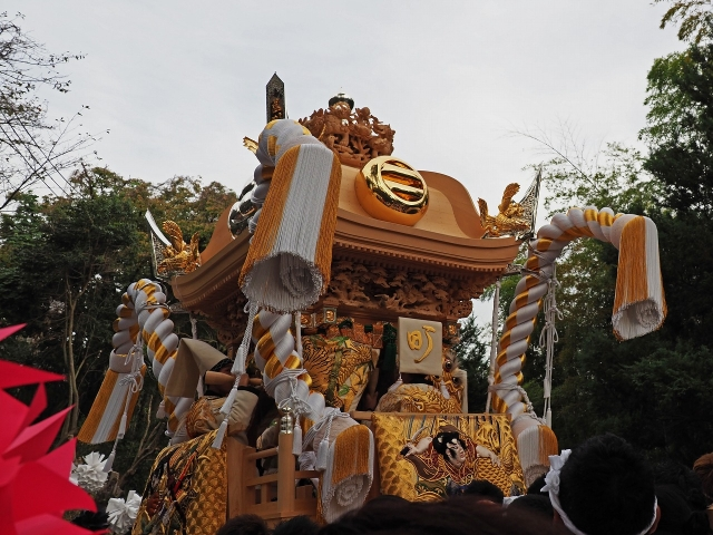 191020荒川神社祭り1