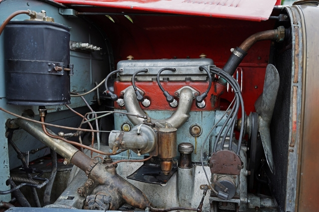 191207クラッシックカー内部1