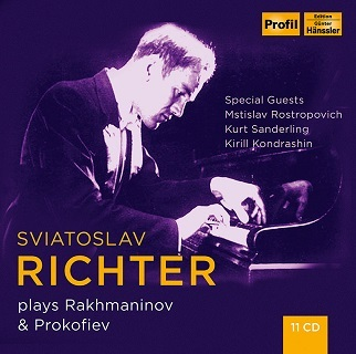 プロコフィエフSviatoslav Richter Plays Rakhmaninov Prokofiev(11CD)