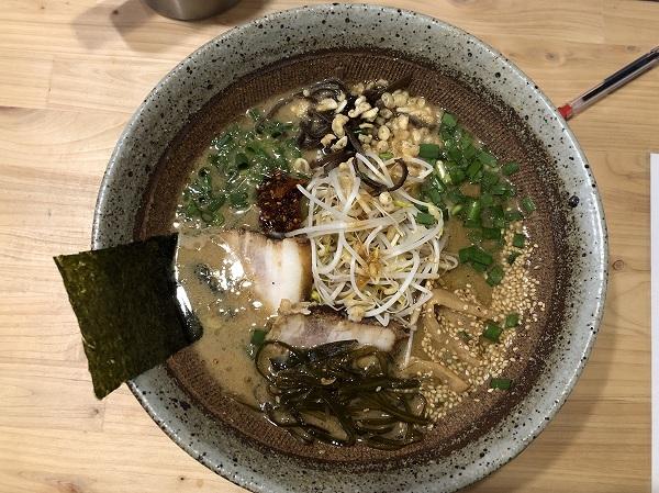 ドラゴンファイヤー皇寿麺@宮崎市