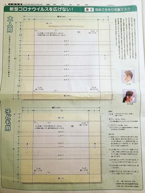 新聞マスク2