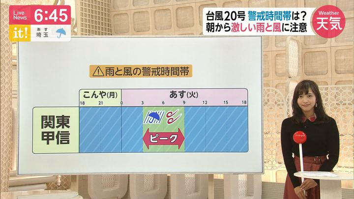 2019年10月21日藤本万梨乃の画像10枚目