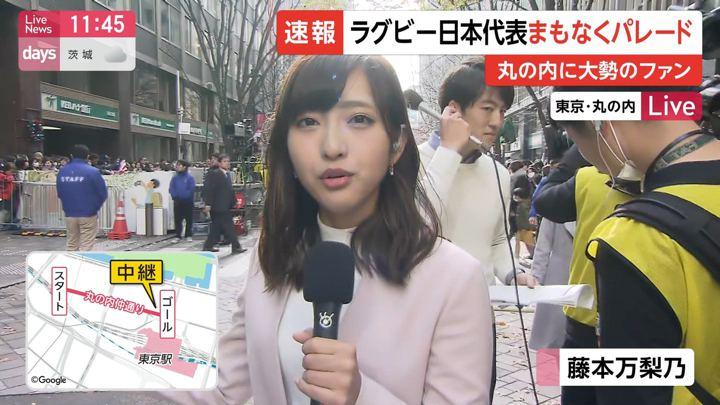 2019年12月11日藤本万梨乃の画像01枚目