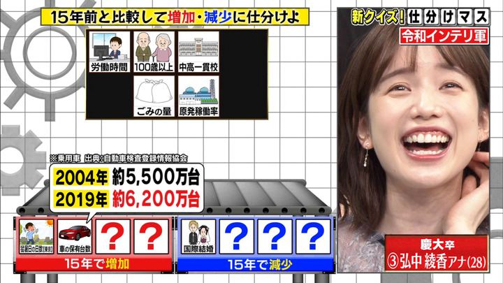 2019年10月21日弘中綾香の画像10枚目