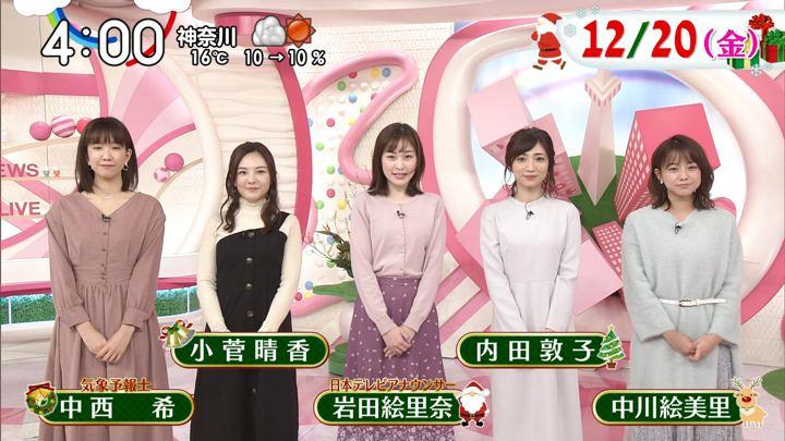 2019年12月20日岩田絵里奈の画像01枚目