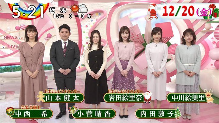 2019年12月20日岩田絵里奈の画像19枚目