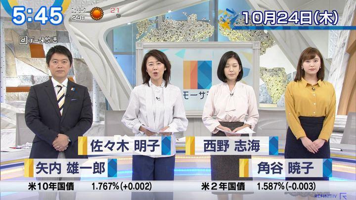 2019年10月24日角谷暁子の画像01枚目