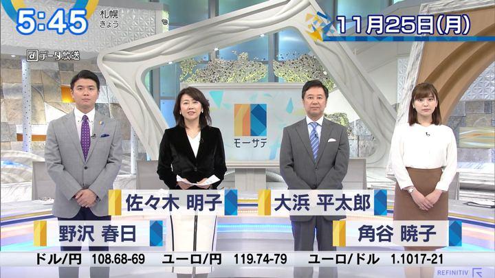 2019年11月25日角谷暁子の画像01枚目