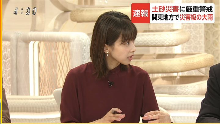 2019年10月25日加藤綾子の画像09枚目