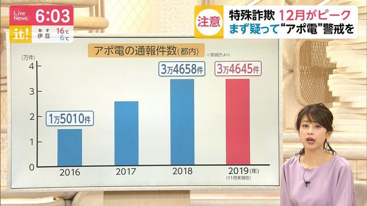 2019年12月23日加藤綾子の画像13枚目
