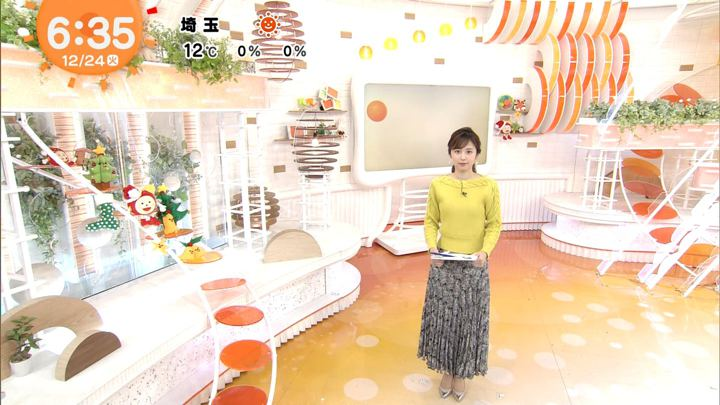 2019年12月24日久慈暁子の画像10枚目