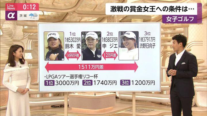 2019年11月27日三田友梨佳の画像24枚目