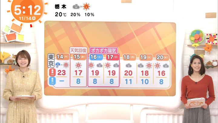 2019年11月14日永島優美の画像03枚目