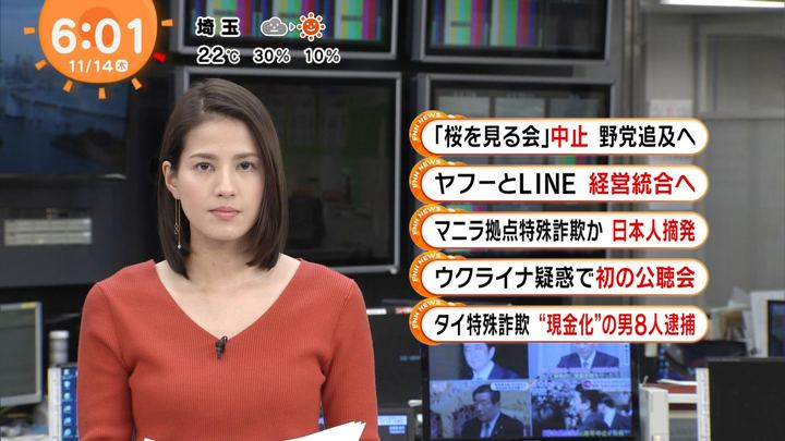 2019年11月14日永島優美の画像07枚目