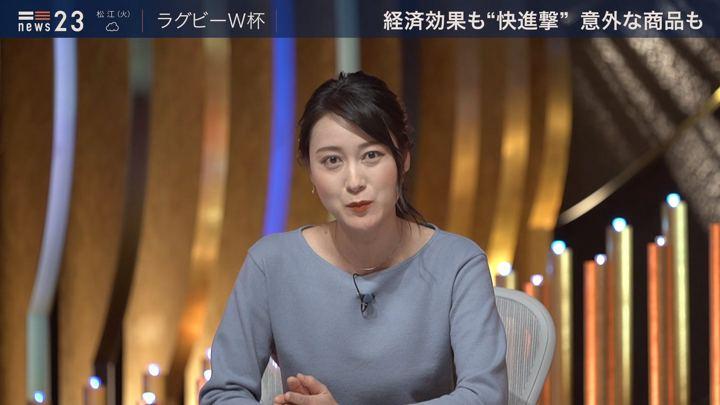 2019年10月21日小川彩佳の画像10枚目