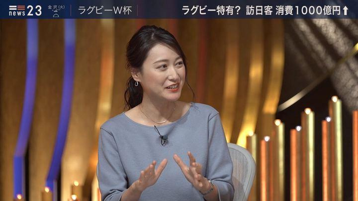 2019年10月21日小川彩佳の画像11枚目
