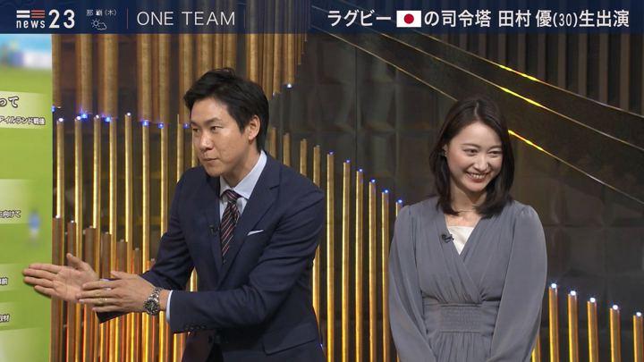 2019年10月23日小川彩佳の画像11枚目